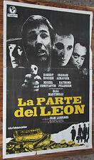 Used - Cartel de Cine  LA PARTE DEL LEON  Vintage Movie Film Poster - Usado