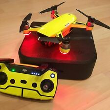 FLUORESCENT YELLOW WATERPROOF DJI SPARK VINYL SKIN / WRAP / DECAL, UK MADE