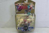 Legend of Zelda Ocarina Of Time Impa, Zelda & Horse Action Figure Nintendo 2001