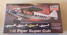 Piper Super Cub 1/48 Scale Flying Model Kit #11678