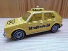 VW Golf LS ADAC Straßenwacht Siku 1033  sehr alt