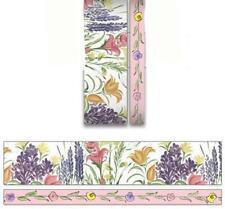 2 Rolls Wildflowers Flower Washi Tape Decorative Planner Supply Plants Diy Craft
