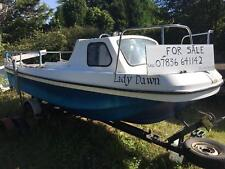 Fishing boat and trailer 17.5ft