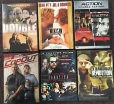 Gangster DVD Lot Tequila Sunrise Conspiracy Theory Copout Mexican Double Cross