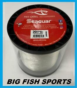 SEAGUAR RED LABEL 100% Fluorocarbon Line 20lb/1000yd 20 RM 1000 FREE USA SHIP!