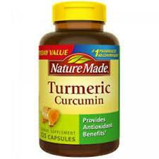 Nature Made Turmeric Curcumin 125 count   Expires 6/2021    NEW & SEALED