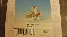 Fitz & Floyd Charming Tails Christmas My Little Angel 87/123