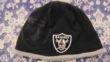 Oakland Raiders New Era Hat Cap Tuque Beanie Mens Womens  New NWT