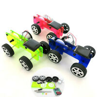 Educational DIY Car Kit Mini Solar Powered Toy  Children Gadget Kids Funny Gift