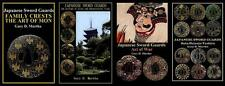Four English Japanese Samurai Sword Guard Tsuba Books 2015-17