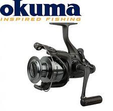 Okuma Longbow XT Baitfeeder 640– Freilaufrolle zum Karpfenangeln, Angelrolle