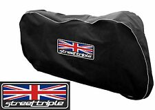 Motorcycle Indoor Breathable Dust cover to fit  Triumph 765 S Street Triple