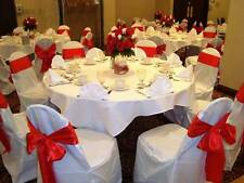 White chair cover for weddings and elegant events (Minimum order is 20 covers)