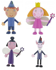 Ben and Holly oficial COMANSI'S Pequeño Reino Figuras Juguetes Cake Topper Toppers