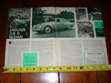 1964 JAGUAR 3.8 S ORIGINAL ARTICLE