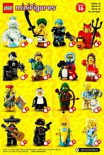 LEGO Minifigure 71013 Série 16 Au Choix - sachets scellés