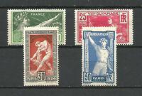 FRANCE Série N° 183/186 JEUX OLYMPIQUES PARIS Neufs**. Cote 160,00€