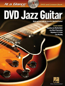 Jazz Guitar At a Glance Learn How to Play Music Lessons Tab Book DVD