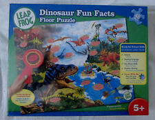LeapFrog: Dinosaur Fun Facts 48 Piece Floor Puzzle with Decoder - New
