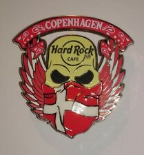 Hard Rock Cafe Pin Copenhagen - 2019 - 3D Skull Bandana