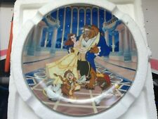 """Knowles Collector Plate - Disney's Beauty And The Beast """"Love's First Dance"""""""