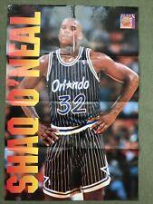 More details for shaq o'neal slam dunk usa basketball poster nba basketball vintage orlando magic
