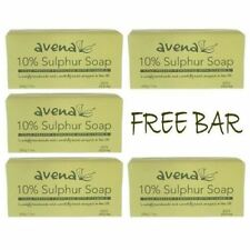 Sulphur Soap 200g, Acne, Skincare, Vegan, Made in UK, 5 Bars For The Price Of 4!