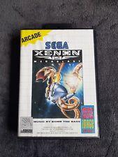 Jeu Sega Master System Xenon 2 Très Bon état, Complet