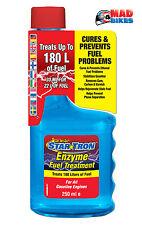 Star Tron Motorcycle Fuel Additive Enzyme Treatment 250ml Petrol Stabilizer