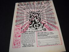 DISCO-DELIC LOVE LITE take a psychedelic musical trip 1970 Promo Display Advert