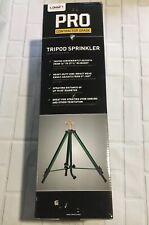 Orbit PRO Contractor Tripod Base Brass Sprinkler Lawn Garden Yard