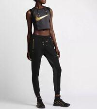 Nike NikeLab Women's Olivier Rousteing Lion Crop Tank Top 834290-010 Size XS New