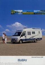 Prospekt Katalog Hobby Reisemobile 2006 brochure motorhome T600 700 Alkoven
