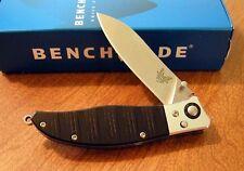 BENCHMADE New 483 Nakamura Design Shori Plain Edge S30V Blade Knife/Knives