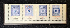 USA2002  #3694a-d   37c The Hawaiian Missionary Stamps - Strip of 4 - Mint NH