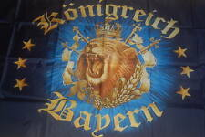 Königreich Bayern Löwe Flagge Fahne Hißflagge Hissfahne 150 x 90 cm