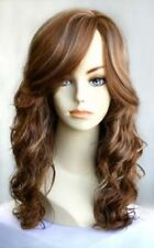 WOMAN LADY LONG SOFT LOOSE WAVY CURLY CURLS WIG SONYA LAYERED NATURAL IRIS WEST