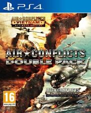 Air Conflicts Vietnam and Pacific Double Pack PS4 NEW - 1st Class Delivery