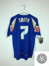 Notts County Smith #7 * MATCH ISSUE * 07/08 NUOVO con etichetta AWAY FOOTBALL SHIRT JERSEY (M)
