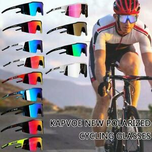Bike Eyewear Outdoor Sports Cycling Sunglasses Polarized Bicycle Goggles E6B4
