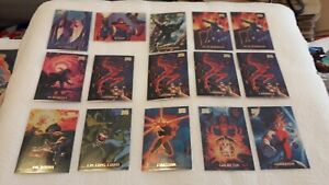 * Ideal for reseller * Marvel Masterpieces 1994 Trading Card Base 52 cards