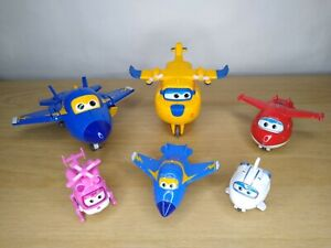 Super Wings Toy Bundle Die cast And plastic Transforming.