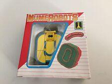 Transformers vintage NUMEROBOTS number 0 MIB robot figure