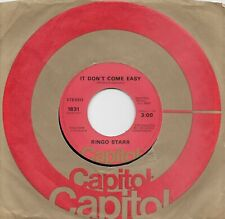 RINGO STARR  It Don't Come Easy / Early 1970 45  THE BEATLES