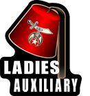 "ProSticker 112 (One) 4"" Masonic Shriners Ladies Auxiliary Decal Sticker Lodge"