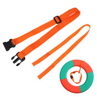 1Pcs Inflatable Swimming Buoy Tow Float Air Bag Waist Belt Replacem IY