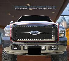 Fedar Rivet Mesh Grille Insert For 2005-2007 Ford Excursion/F-series Super Duty