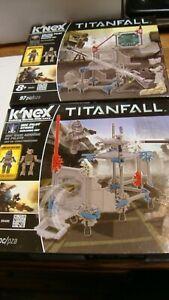 K' Nex Titanfall  LOT OF 2 #69497 # 69498 -IMC PILOT, MILITIA PILOT