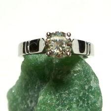 Diamant Echtschmuck-Ringe aus Weißgold mit VVS2-Reinheit