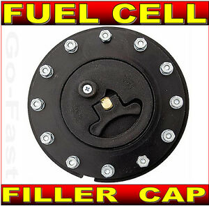 FUEL CELL FILLER CAP ASSEMBLY - FLUSH MOUNT 12 BOLT FUEL CAP